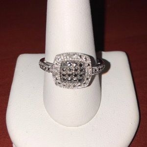 Silver ring Size 10